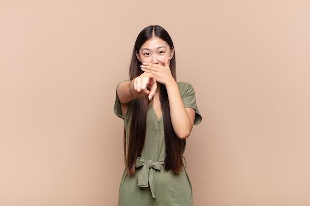 Молодая симпатичная китаянка