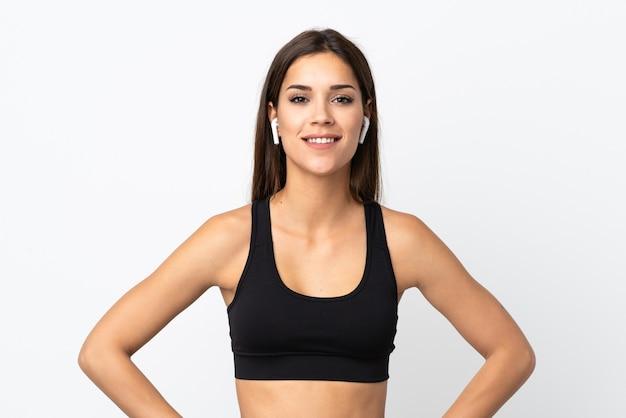 若いスポーツの女性