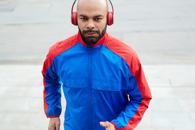 Young sprinter