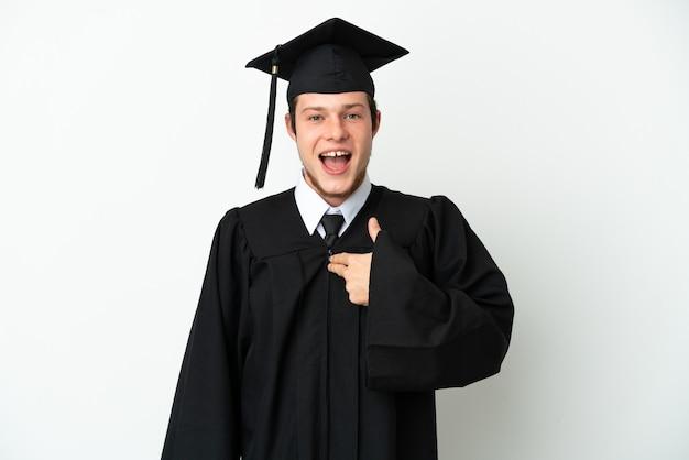Молодой российский выпускник вуза