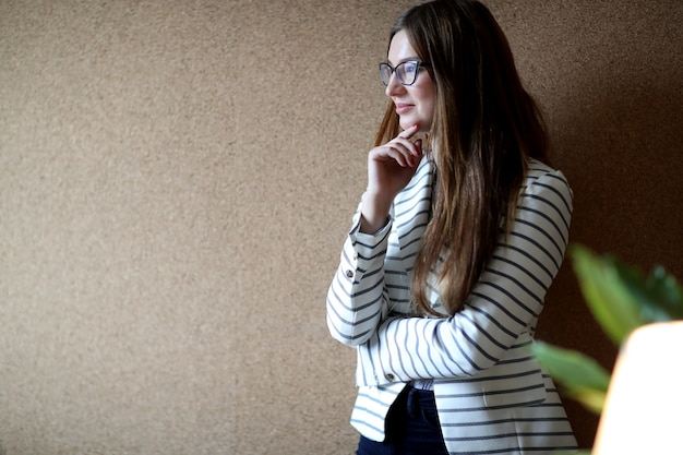 Young woman at the office