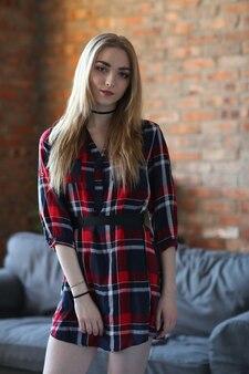 Young woman posing