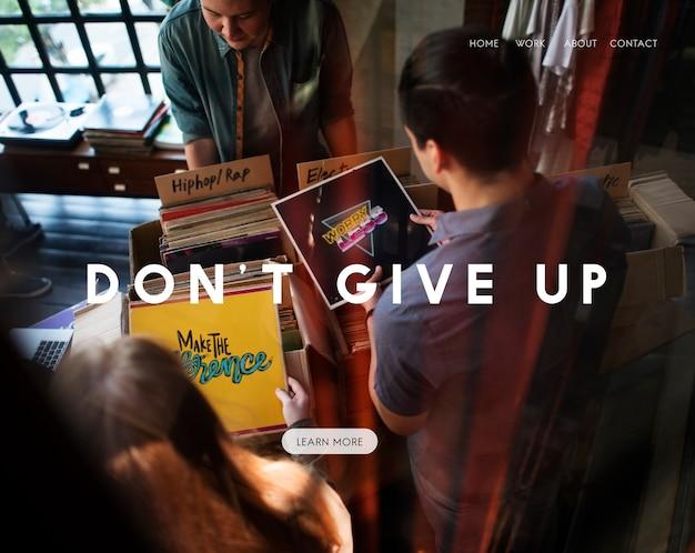Fai del tuo meglio non rinunciare la vita continua a vivere la tua vita