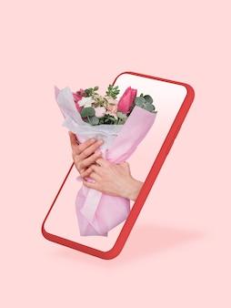 Ваш смартфон или другое устройство - все, что вам нужно для современного образа жизни copyspace для рекламы