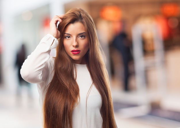 Youth lady female woman skin