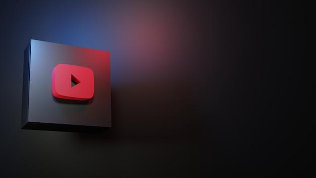 Значок youtube высокое качество значок youtube цвет пастер