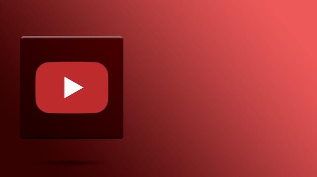 3d 플랫폼의 youtube 로고