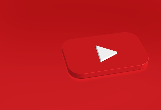 Youtube logo simple design template