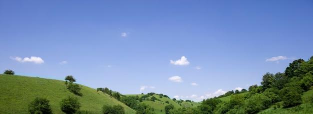 セルビア、ヴォイヴォディナのザガジカの丘