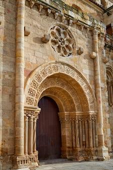 Zamora san juan church in plaza mayor spain
