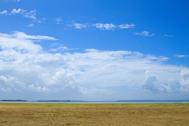 ザンジバルビーチの風景、タンザニア、アフリカのパノラマ