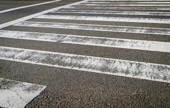 横断歩道の道路