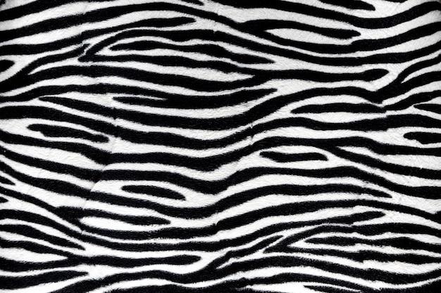 Zebra fur background texture