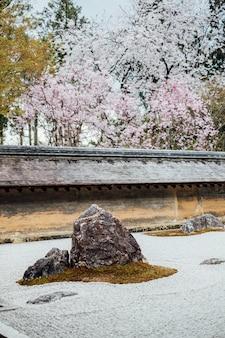 Zen garden in japan
