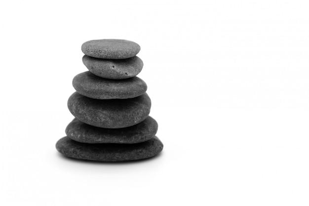 Изолированные камни дзен