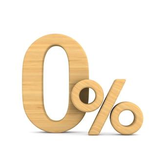 Нулевой процент на белом