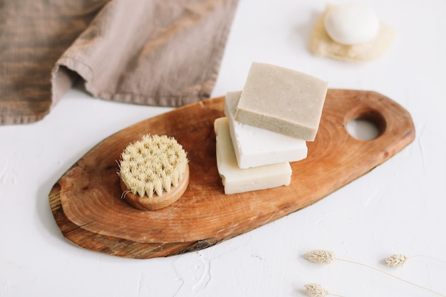 Безотходные аксессуары для ванных комнат натуральное органическое мыло без пластика и экологически чистые продукты
