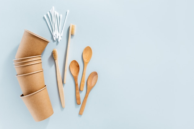 Zero waste concept with sustainable products