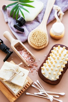 Zero waste natural cosmetics products
