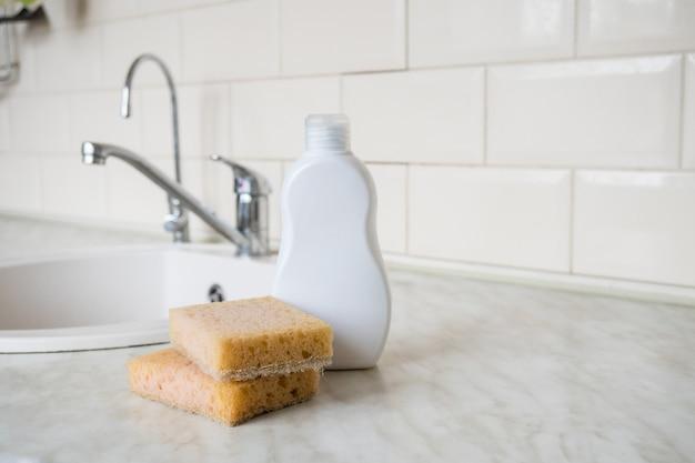 Нулевые отходы для личной гигиены экологичная губка из натурального бамбука под кухню мытье посуды мытье рук
