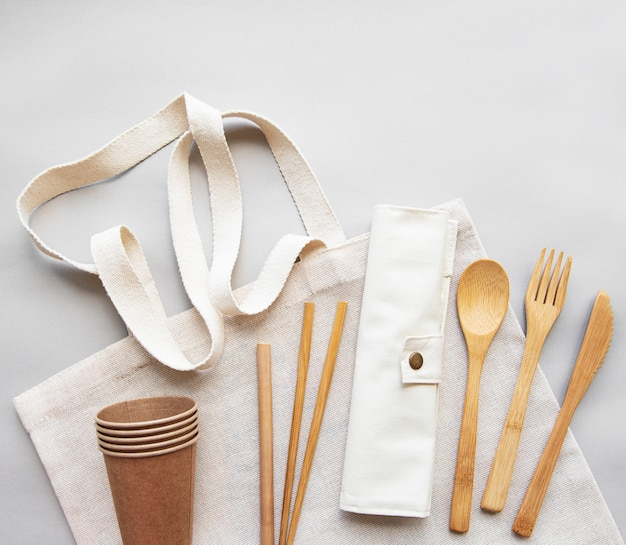 Zero waste ,  recycled tableware
