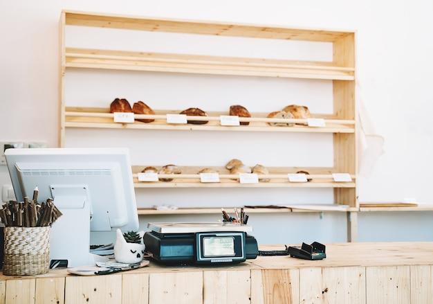 Магазин без отходов цифровые весы для взвешивания продуктов на кассе в продуктовом магазине без пластика
