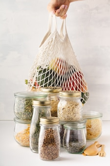 Zero waste shopping