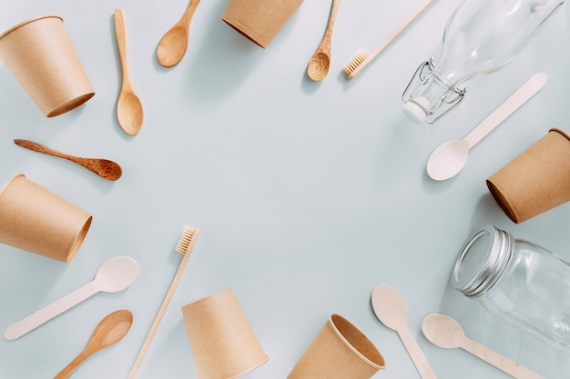 Zero waste with sustainable products