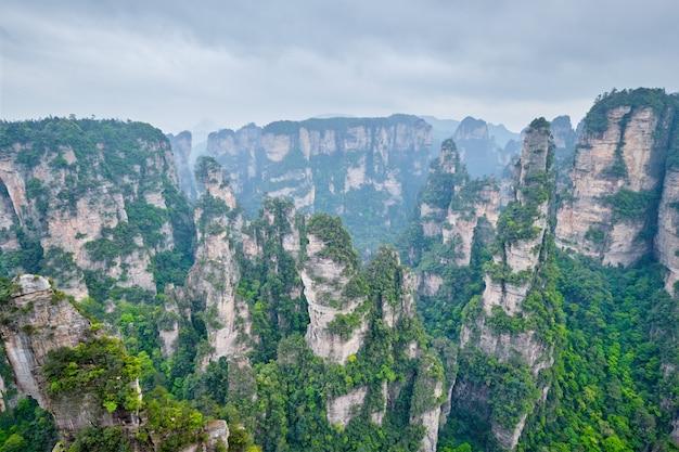Чжанцзяцзе горы китай