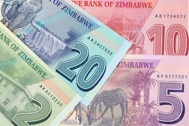 Zimbabwean money - new serie of banknotes