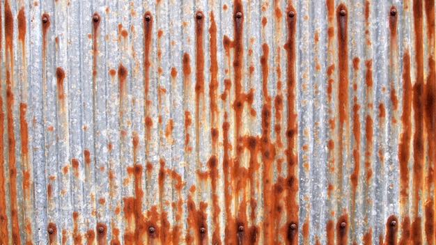 Zinc galvanized grunge metal texture