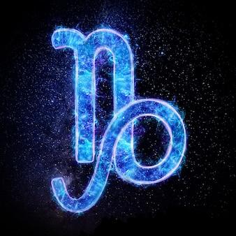Значок знака зодиака козерог, знаки гороскопа