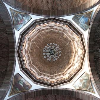 教会の天井の詳細、zona centro、サンミゲルデアジェンデ、グアナフアト、メキシコ