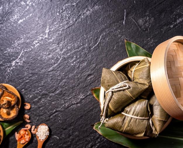 드래곤 보트 축제를위한 zongzi