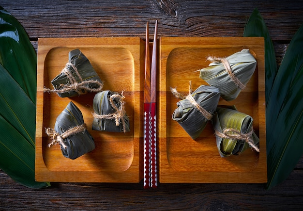 Zongzi glutinous sticky rice dumplings recipe