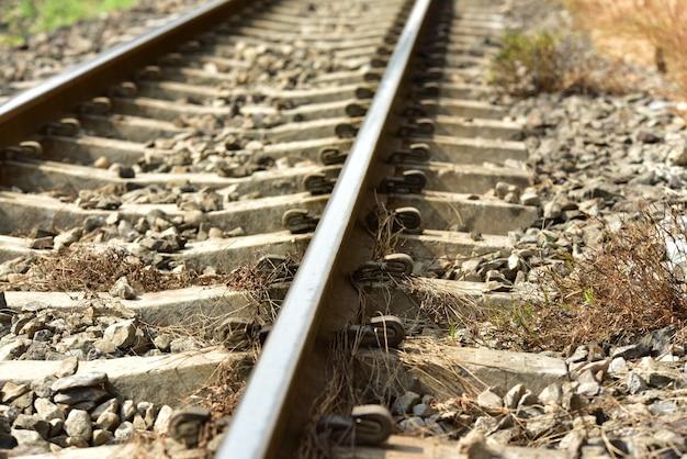 태국의 기차역에서 확대