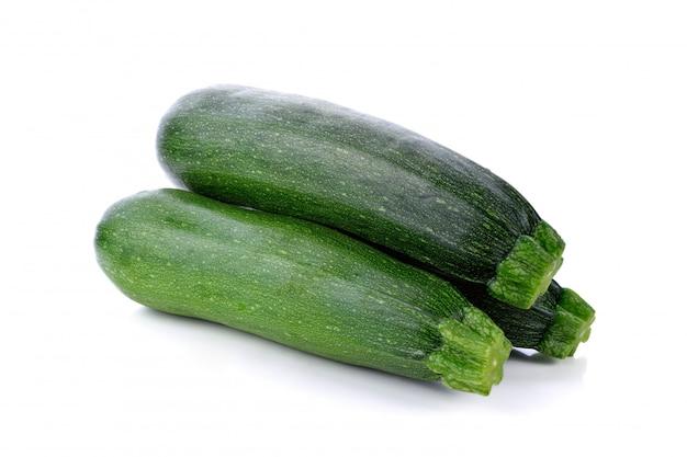 Zucchini cucumber isolated