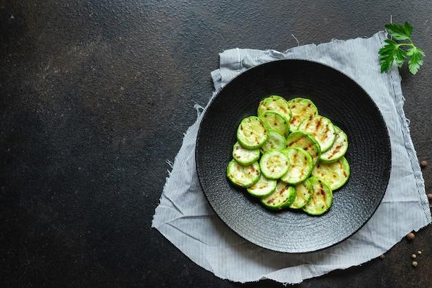 테이블 채식 채식주의 자 또는 채식주의 자에 호박 구이 야채 전채 간식