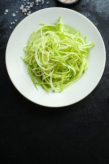 ズッキーニスパゲッティサラダ野菜スナック