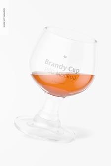 1.7온스 유리 브랜디 컵 모형, 플로팅