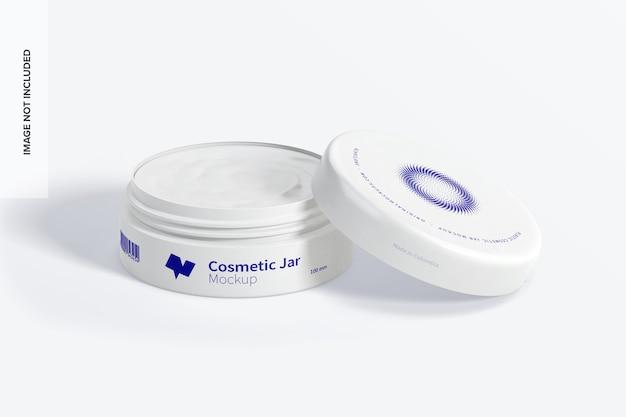 Макет пластиковой косметической банки 100 мм