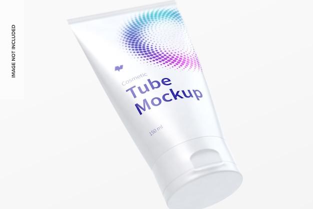 150 ml cosmetic tube mockup