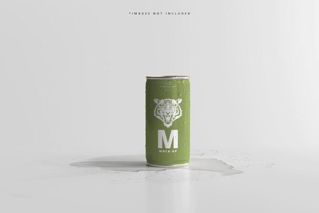 180ml 미니 소다 또는 맥주 캔 (물방울 모형 포함)