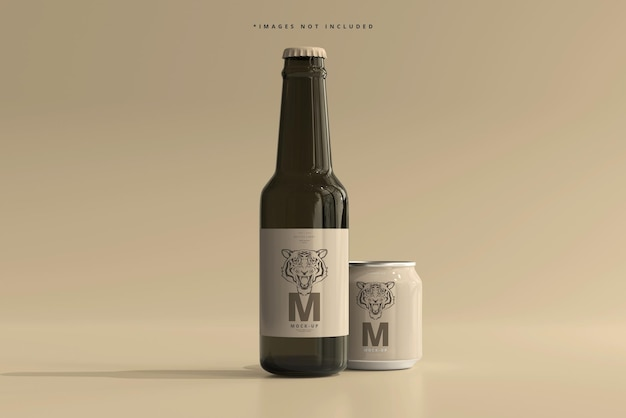 250ml 스터 비 소다 또는 맥주 캔 및 병 모형