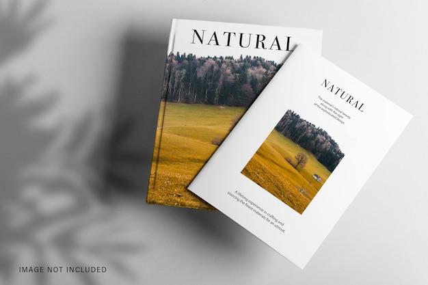 2冊のモックアップデザイン
