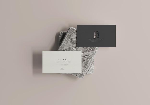 Макет визитной карточки 3,5x2