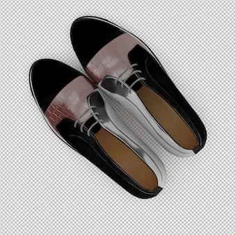 等尺性靴3 d絶縁レンダリング