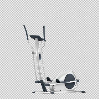 等尺性スポーツとジムの設備3 dレンダリング