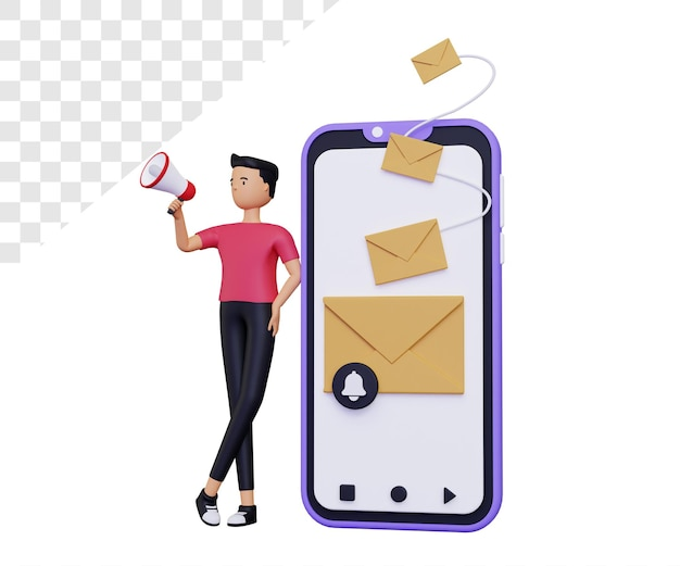3 рассылка по электронной почте с мобильного телефона