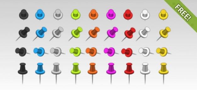 36 free push pins
